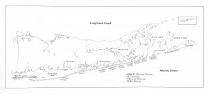 20. Figure 9. Map showing whaling Stations along the south shore of Long Island and numbers of whales taken in 1687 Map by Jeremy Dennis (Shinnecock Nation)
