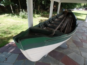 Figure 6. Nineteenth century whaleboat from the Sag Harbor Whaling Museum collection.