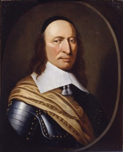 Figure 2: Petrus Stuyvesant, n.d. Artist unknown. Oil on wood. Courtesy of the New-York Historical Society, gift of Robert Van Rensselaer Stuyvesant, 1909.2.