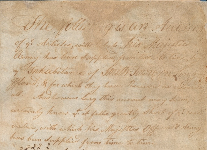 """A List of Persons on Long Island"": Biography, Voluntarism, and Suffolk County's 1778 Oath of Allegiance"