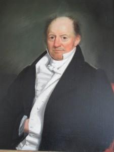 Figure : Nicoll Floyd, 1831, oil on canvas, Shepard Alonzo Mount.