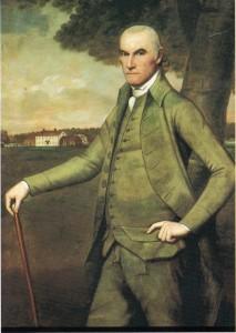 Figure 2: William Floyd, 1791-92. Ralph Earl, oil on canvas. Independence Hall.