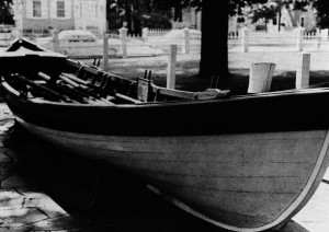 Figure 2. Sag Harbor Whaling Museum whaleboat. Attributed to the shop William Cooper.