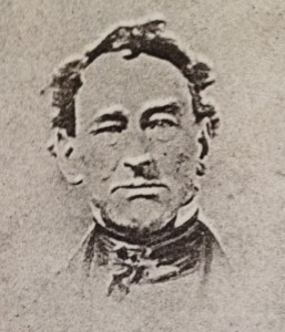 Figure 1. Daguerreotype, c. 1855, is believed to be William Cooper, Sr. Courtesy of Sag Harbor Historical Society.