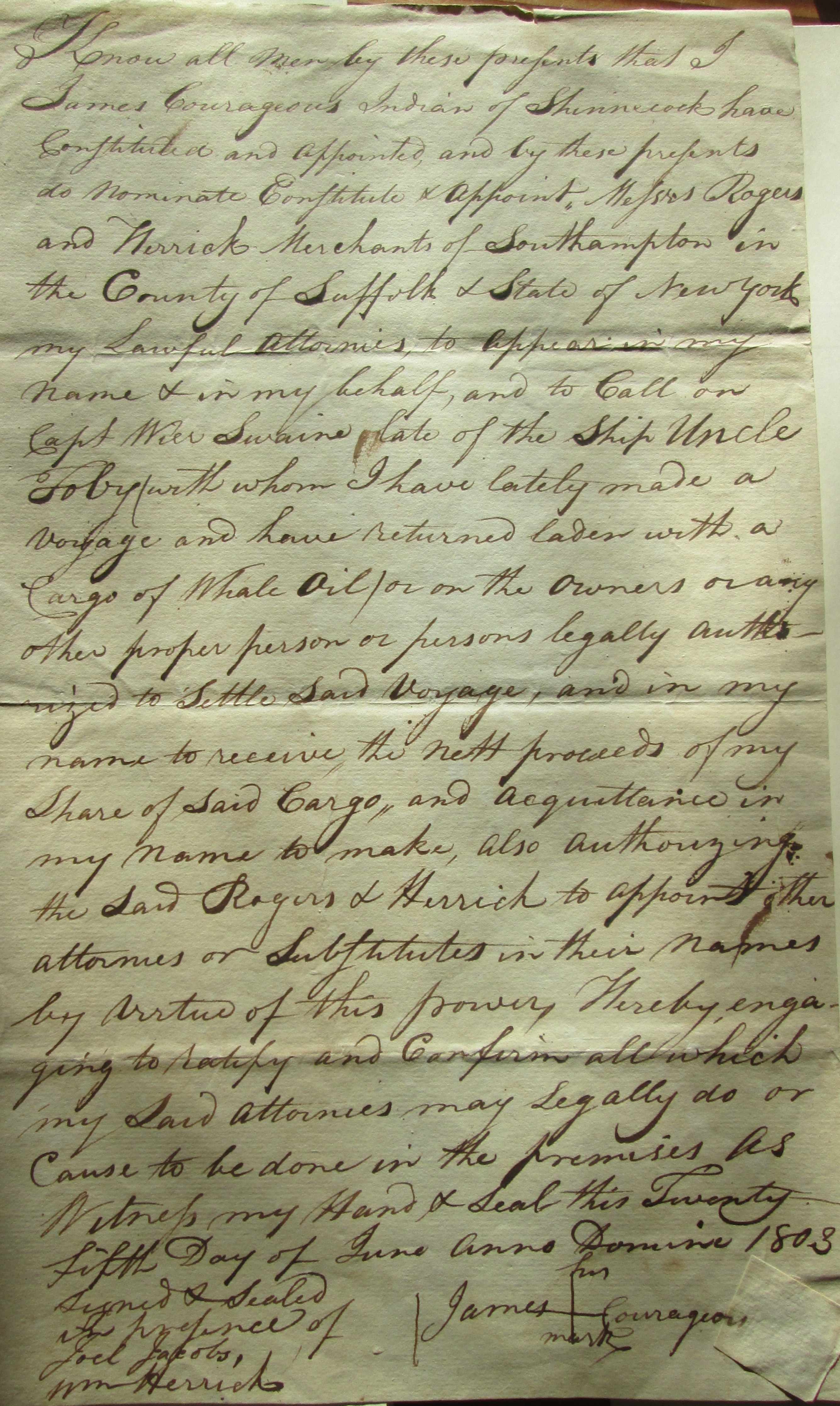 Indian whalers on long island 1669 1746 long island history journal agreement by james courageous a shinnecock whaler to go to sea platinumwayz
