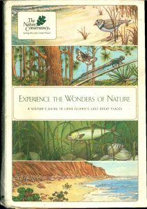 Fig. 4. Cover of the Nature Conservancy's book, Experiencing the Wonders of Nature, which describes their  preserves (2002). Courtesy Nature Conservancy.