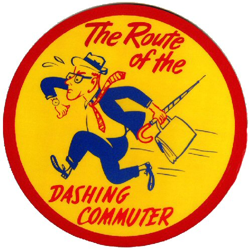 Fig. 2 Former Long Island Rail Road Logo (Dashing Dan © MTA Long Island Rail Road.  Used with permission)