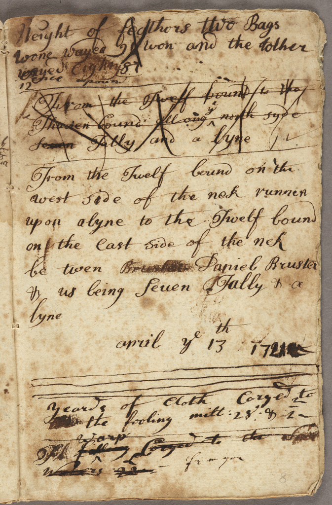 The Richard Floyd Account Book, 1719-1732: Insights into Changing Times in Colonial Brookhaven